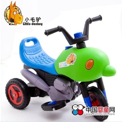小毛驴儿童电动车