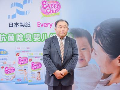 日本制纸珂蕾亚公司海外事业部部长谈Every Chu未来发展:婴幼儿纸尿裤市场空间大 品质把控是关键