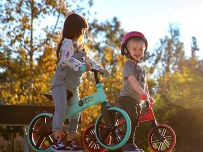 锻炼孩子协调力 我就选Y·Volution菲乐骑平衡车