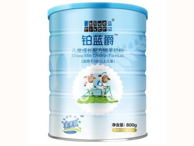 蓝河用新品类、新营养开启高端奶粉新时代