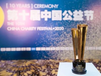 蓝河乳业获中国公益节2020年度责任品牌奖