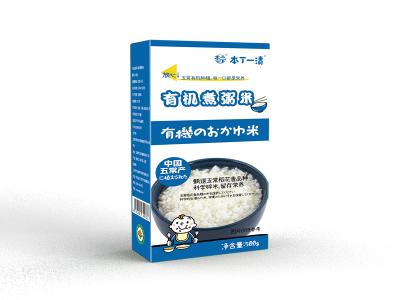 本丁一清有机煮粥米 五常大米 天然有机 更营养!