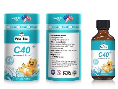 春季**正当时 派克熊C40海藻饮液(钙滴剂)来帮忙!