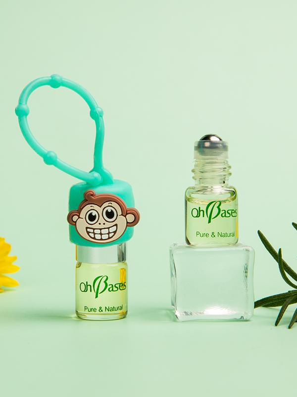 欧比信小小香茅护肤舒缓油 可爱萌趣又实用