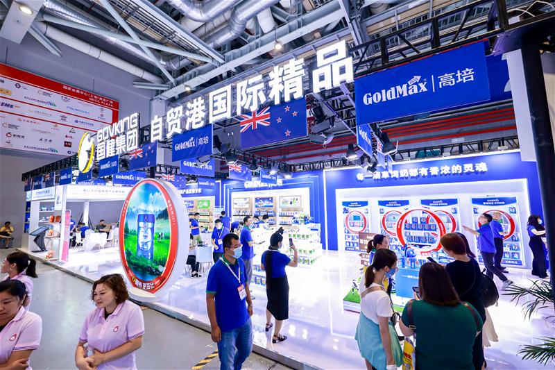 自贸港国际精品高培闪耀亮相CBME展 新品类新模式引关注