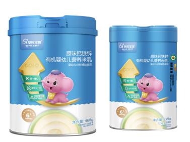 秋季新品来袭!华氏宝贝超金有机营养米乳,宝宝辅食米乳优选