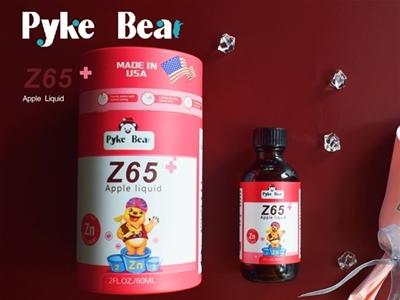 派克熊Z65苹果饮液,专注贴心护成长