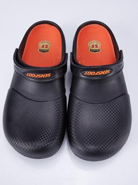 盛世富 黑色防滑鞋