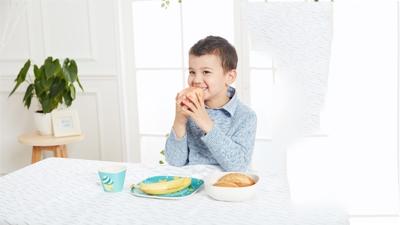 甜糖妈咪纸杯蛋糕竹纤维儿童餐具系列