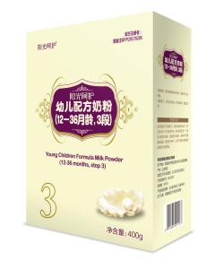 爱可丁阳光呵护幼儿配方奶粉3段(400g)