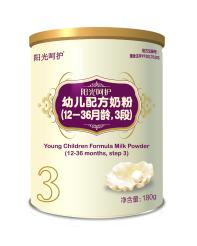 阳光呵护婴幼儿配方奶粉(180g)