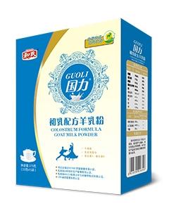 和氏国力初乳配方羊乳粉(盒装)