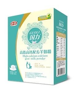 和氏国力高铁高钙配方羊奶粉(盒装)