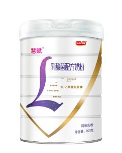 宜品慧赋乳酸菌配方奶粉800g