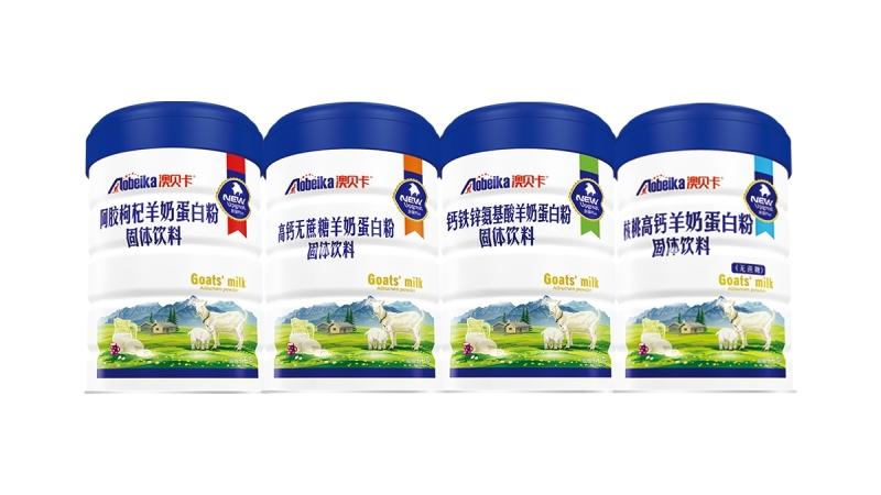澳贝卡羊奶蛋白粉系列