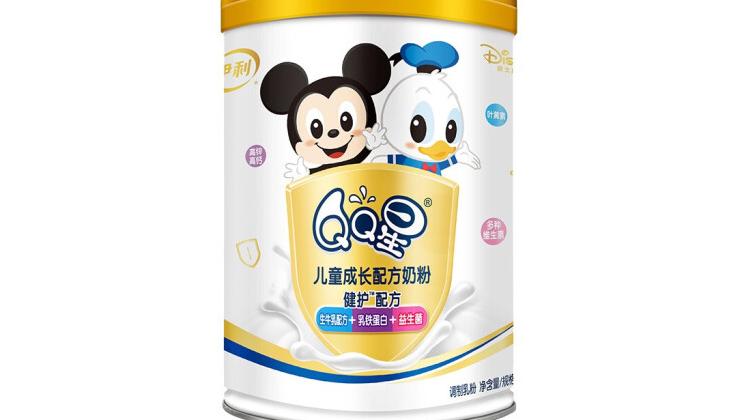 伊利QQ星儿童成长配方奶粉系列