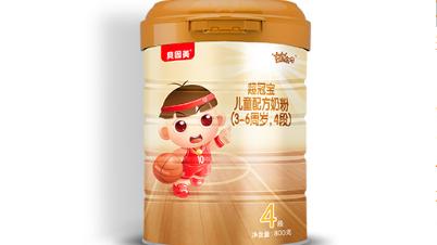 贝因美超冠宝四段配方奶粉系列