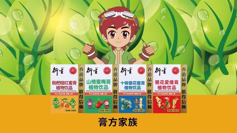 香港衍生膏方家族