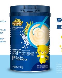 小淘熊高钙益生菌米粉(听装)