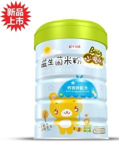 小淘熊益生菌米粉钙铁锌配方(听装)