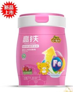 小淘熊高铁有机营养米粉(小听装)