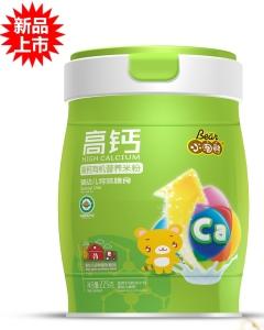 小淘熊高钙有机营养米粉(小听装)