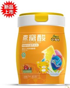 小淘熊燕窝酸有机营养米粉(小听装)
