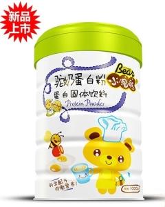 小淘熊驼奶蛋白粉蛋白固体饮料(听装)
