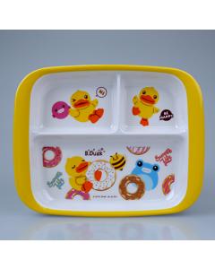 五和B.Duck小黄鸭儿童三格盘