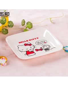 五和Hello Kitty 凯蒂猫方碟