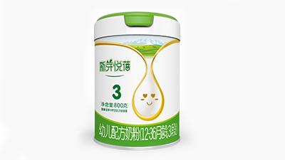 天山珍润新芽悦蓓(益生菌)婴幼儿配方奶粉系列