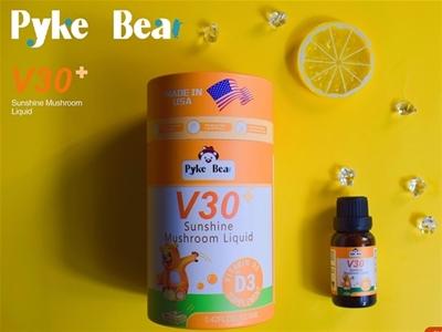 派克熊V30阳光蘑菇饮液(D3)|天然好品质,面向全国空白区域诚招经销代理