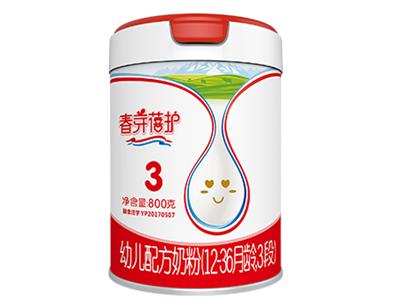 有机奶粉招商丨天山珍润春芽蓓护幼儿配方奶粉:有机新鲜生牛乳&瑞士4℃瞬间锁鲜